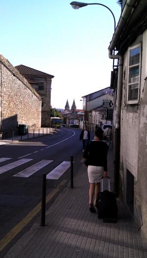 2011 - Europe - Santiago - Julie Walking