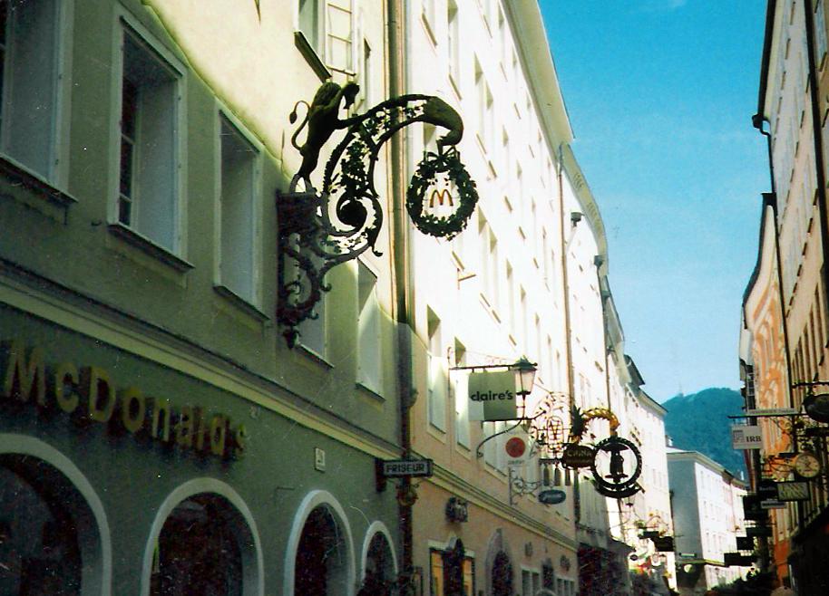 Mcdonalds Salzburg