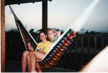 I used to not really like this photo but now all I see is a happy day with my mom in Belize!