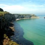Somewhere along the Antrim Coast.