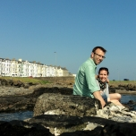 We are on the rocks... literally!