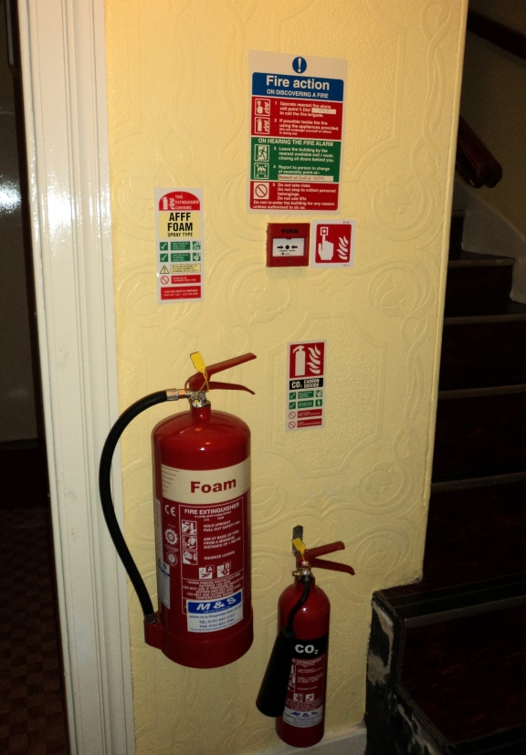 Fire Safety is very important.