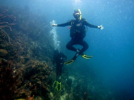 Chillin' underwater