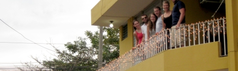 San Pedro Sula Balcony