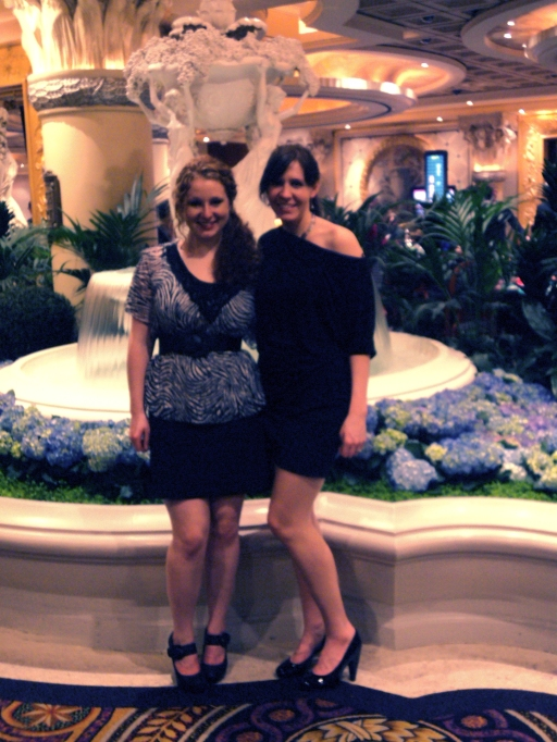 Ali and I in Las Vegas