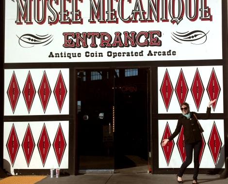 Musée Mécanique entrance