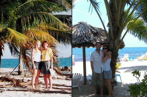 Belize then and now