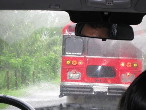 Van in Guatemala