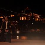 Porto waterfront at night
