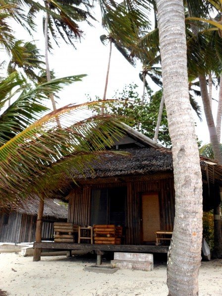 Our beach bungalow in Siquijor.