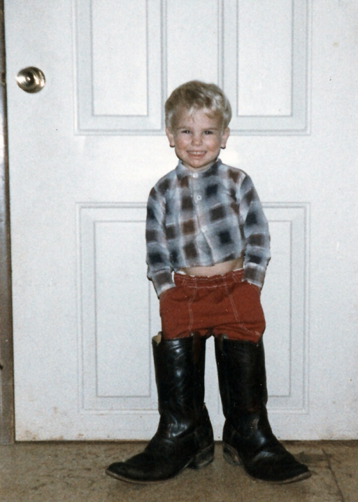 Andy as a kid!
