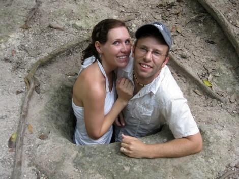 Tikal hole.
