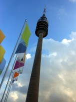 Olympiaturm in Munich's Olympiapark.