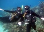 Scuba diving in Utila, Honduras