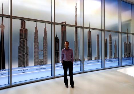 Burj Khalifa tallest buildings chart