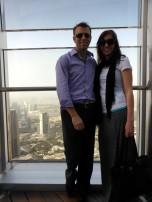 Burj Khalifa observation deck.