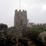 Overlooking Sintra at the Moorish Castle