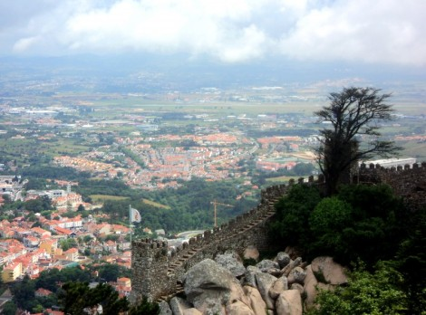 Views from the Moorish Castle.