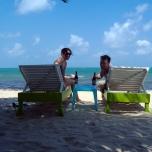 2008 - Honeymoon - Beliken Couple on Beach