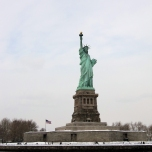 2011 - New York - Statue of Liberty from Boat