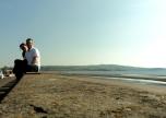 2012 - UK - Ayr - Beach Blurry Couple