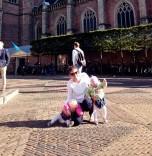 2015 - Europe - Haarlem - Around Town Disaster Pose
