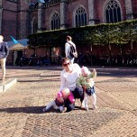2015 - Europe - Haarlem - Around Town Disaster Pose