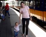 Train in Belgium