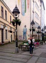 2017 - Serbia - Around Town - Julie Holding Girls