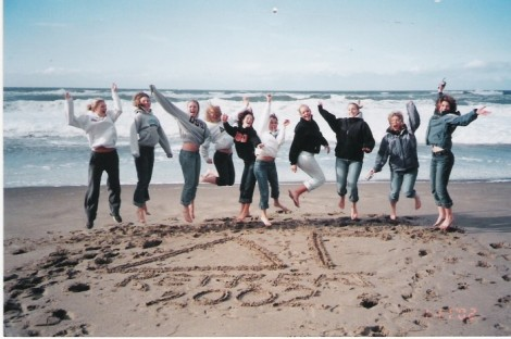 On the Oregon coast in 2002.