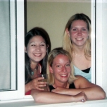 Sophomore - Europe - Hostel Window
