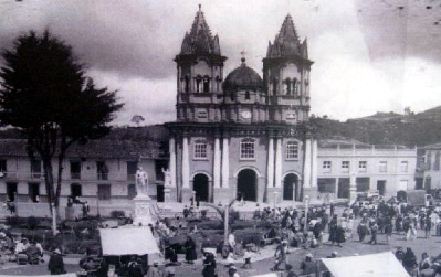 Viejo Peñol church in Colombia.