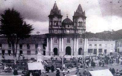 Viejo Peñol church in Colombia.
