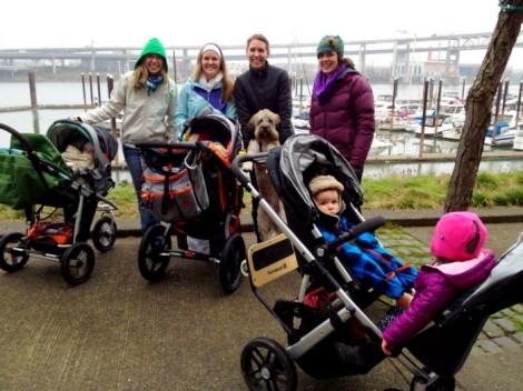 Portland waterfront walk.