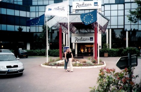 Paris Radisson airport hotel.