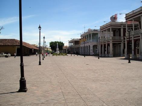Granada, Nicaragua plaza