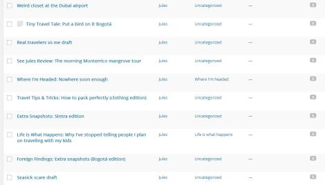Draft folder screenshot