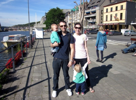2015 - Europe - Dinant - Around Town Waterfront Family