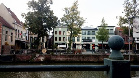 2015 - Europe - Mechelen - Around Town Canal and City